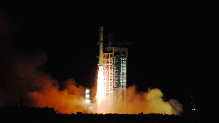 china sends first 'unhackable' message to satellite   financial times