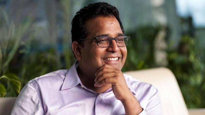 Vijay Sharma, founder and chief executive of Paytm