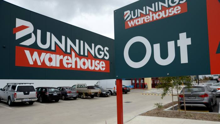 Homebase stores to be rebranded Bunnings | Financial Times