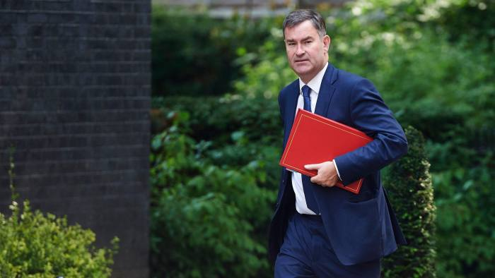 Britain's Work and Pensions Secretary David Gauke arrives to attend a Cabinet meeting at 10 Downing Street in central London