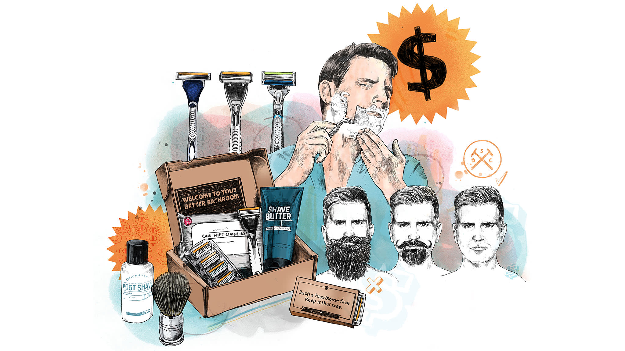 Dollar Shave Club wins market share and customers with back-to-basics approach | Financial Times