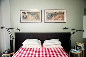 Daniel Libeskind's main bedroom