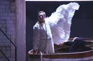 Thomas Rowlands as Gottfried in Welsh National Opera's production of Wagner's 'Lohengrin'