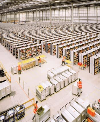 Amazon warehouse in Rugeley