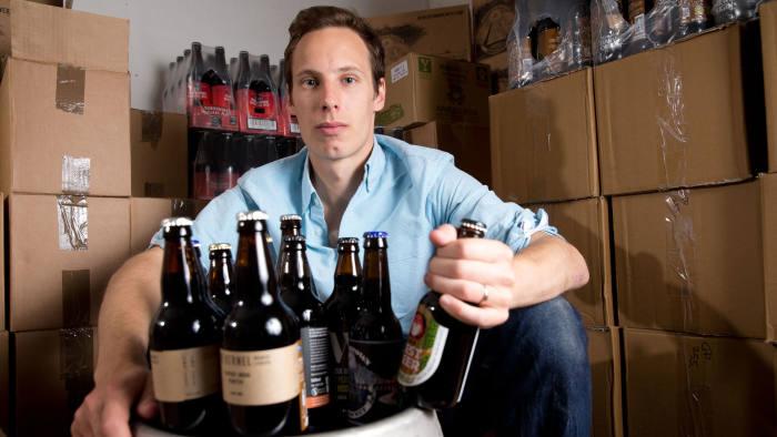 Cheers: Matt Lane turned a hobby into a career