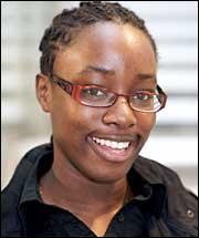 Ufuoma Eyitoyo, A-Level Student