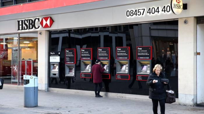 HSBC signals end to UK branch closure programme | Financial Times