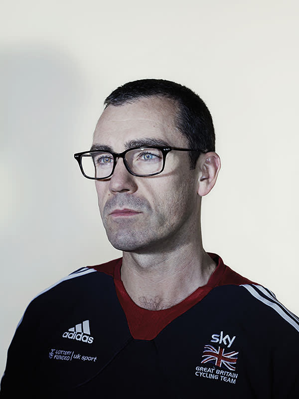 British Cycling's programmes director Andy Harrison