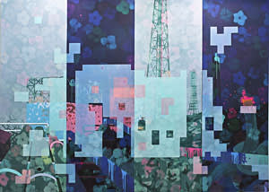 'Grow Till Tall' (2013) by Hidenori Ishii, C. Grimaldis Gallery at Downtown art fair