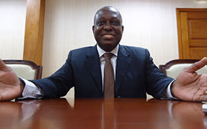 Manuel Vicente, Angola's vice-president and the former head of Sonangol, Angola's national oil company, whose fortunes he transformed during his 12-year stewardship