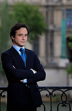 Thomas Bompard, the new gallery's owner