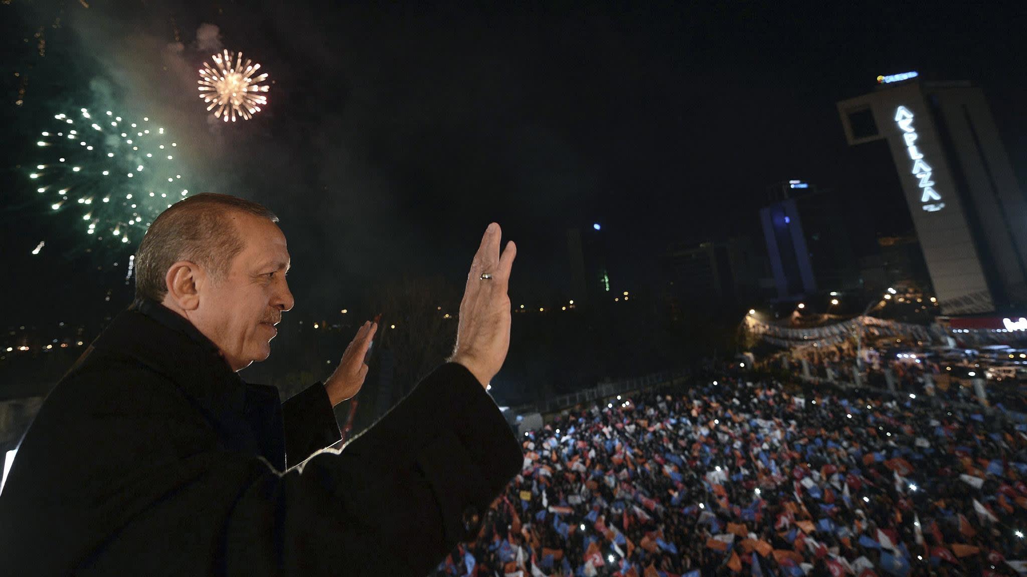 Recep Tayyip Erdogan claims victory in Turkey national polls   Financial Times
