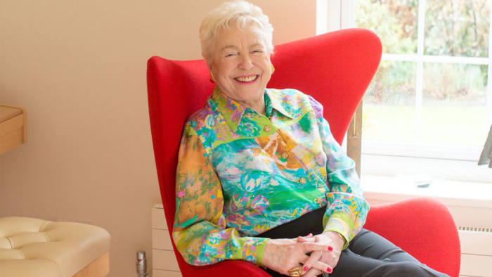 Dame Stephanie Shirley at her home in Henley-on-Thames