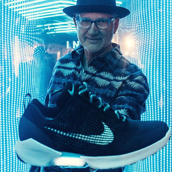 sports shoes 51381 119dd Meet Nike sneaker legend Tinker Hatfield