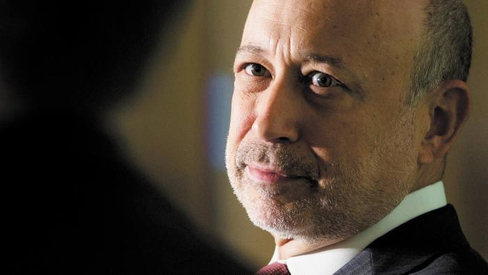 Lloyd Blankfein, chief executive officer of Goldman Sachs Group