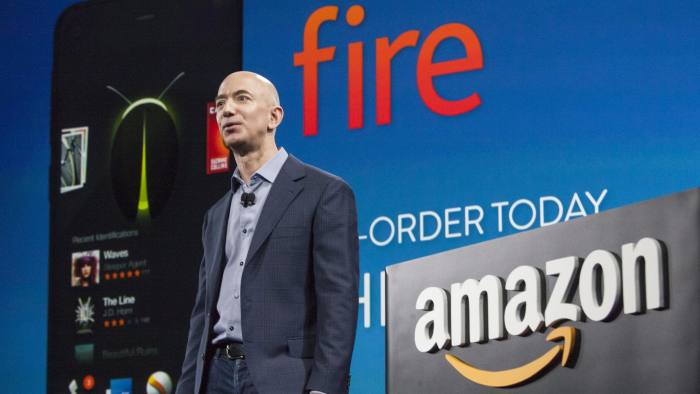 Amazon eyes online sales boost through 'Fire' smartphone