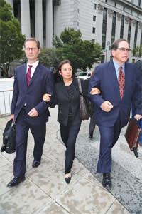 Glafira Rosales leaves court