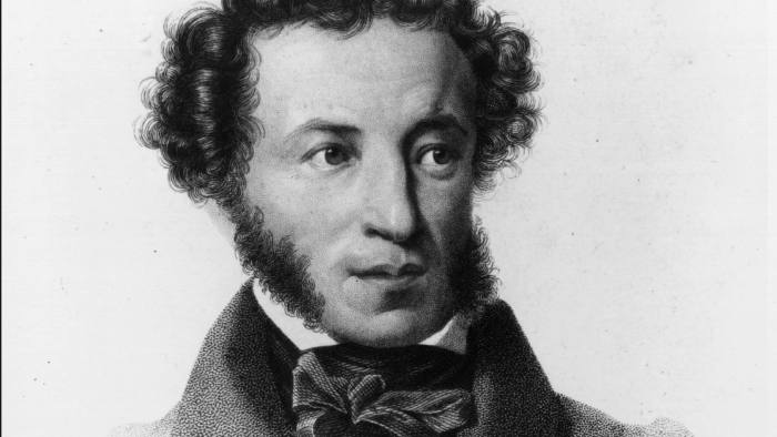 circa 1830: Russian poet, Alexander Sergeyevich Pushkin (1799 - 1837). (Photo by Hulton Archive/Getty Images)