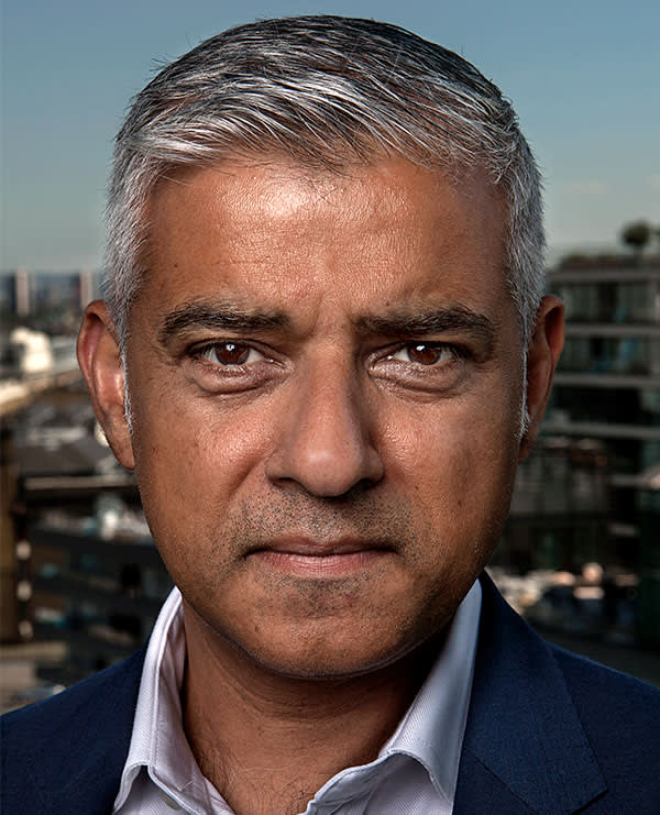 Sadiq Khan, Mayor of London, City Hall, London.17/8/16. Photo Tom Pilston.