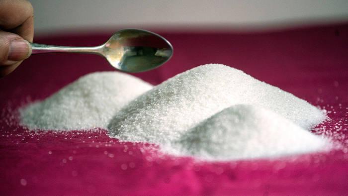 MELBOURNE, AUSTRALIA - APRIL 08:  In this photo illustration, a teaspoon of sugar is seen on April 8, 2016 in Melbourne, Australia.