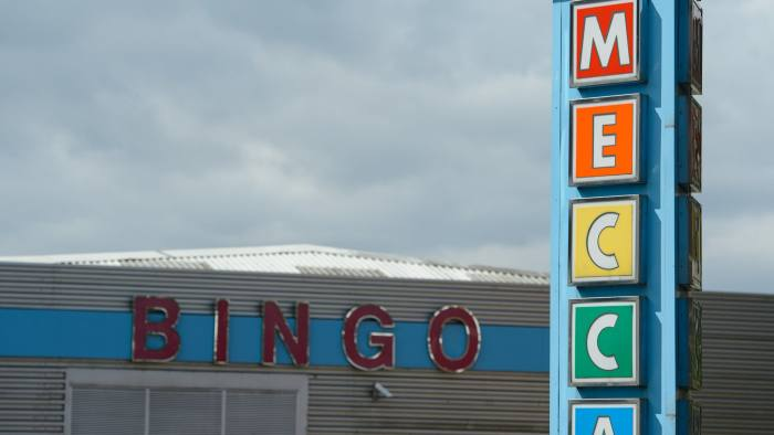 """File photo dated 15/08/13 of a Mecca Bingo hall in London, as operator Rank Group has said Britain's decision to quit the European Union will have """"little or no direct impact"""" on its performance. PRESS ASSOCIATION Photo. Issue date: Tuesday August 23, 2016. Rank, which recently pulled out of a joint bid with 888 for rival William Hill, said it will not be affected by the plunge in the pound as it is a predominantly UK-facing business. See PA story CITY Rank. Photo credit should read: Dominic Lipinski/PA Wire"""