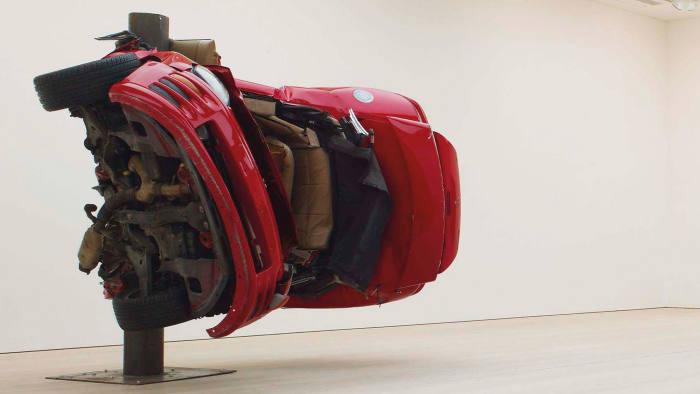'Untitled (Crash 1)', by Dirk Skreber