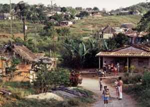 Rural village in Cuba. Image shot 2010. Exact date unknown.