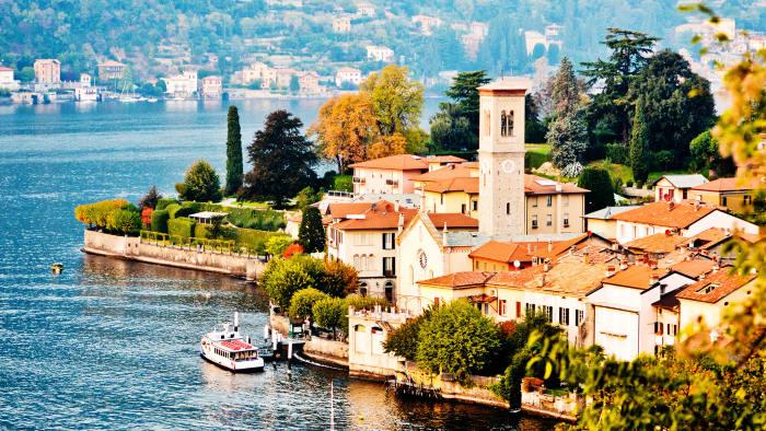 Torno village, Lake Como