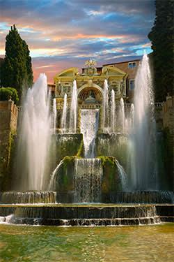 Organ Fountain at Villa d'Este