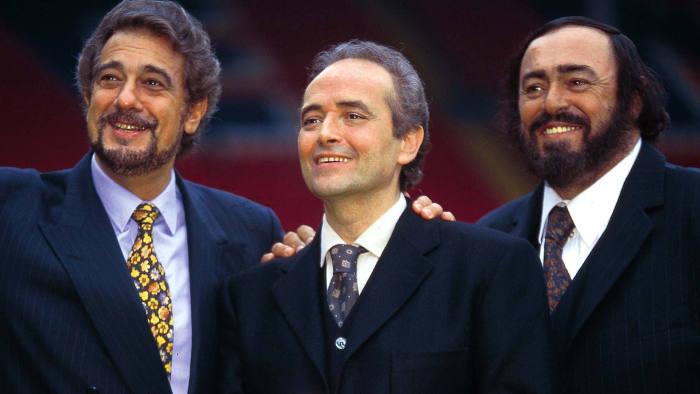 José Carreras, Plácido Domingo and Luciano Pavarotti, in 2000