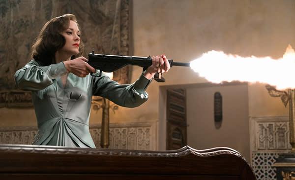 Marion Cotillard in 'Allied'