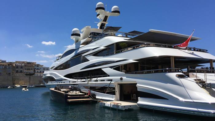 Superyachts Magnify Billionaires Worst Traits Financial Times