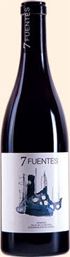 A bottle of 2011 Suertes del Marqués 7 Fuentes