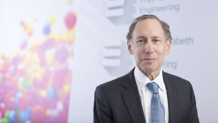 Robert Langer winner of the QE Prize for Engineering,