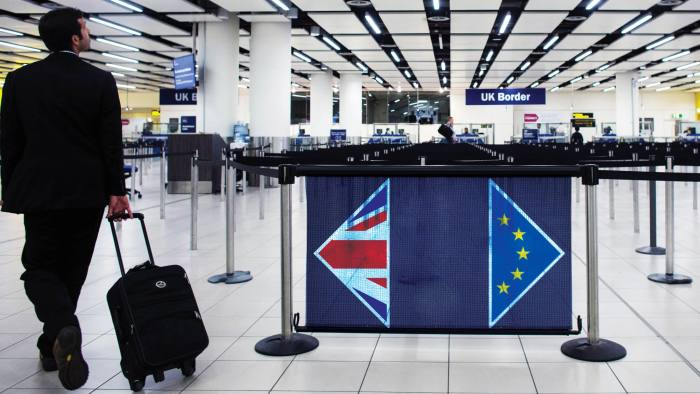 Work permits would mean an end to the free movement rules that come with membership of the single market