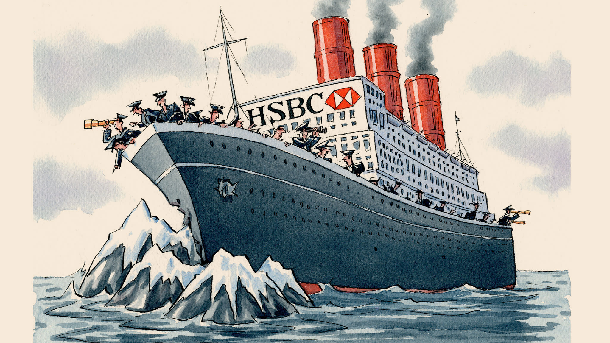 HSBC, the bank that ran aground while overseas | Financial Times