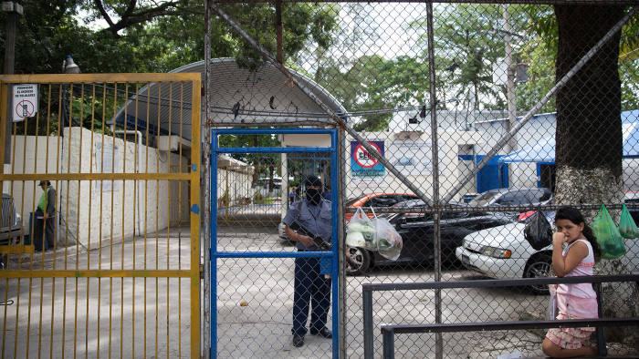 Behind these bars: Ilopango women's prison on the outskirts of San Salvador where women have been held on abortion-related charges