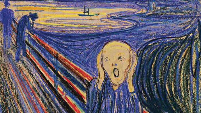 Edvard Munch's 'The Scream' (1895)