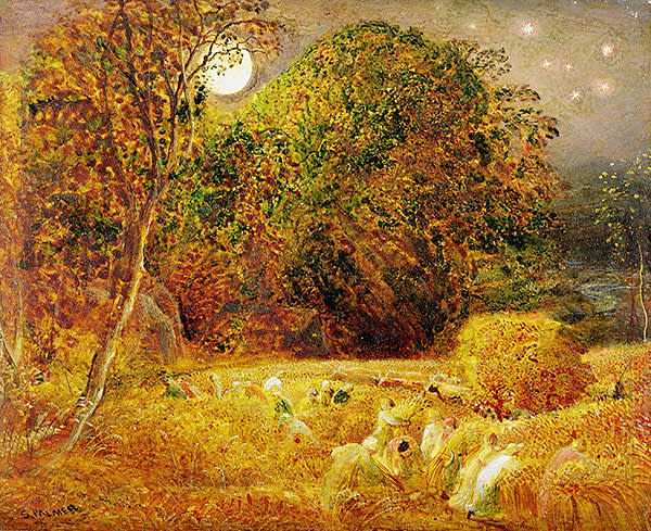 'Harvest Moon' (1833) by Samuel Palmer