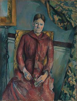 'Madame Cézanne in a Red Dress'