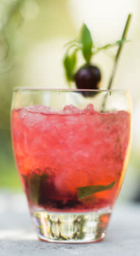 Cherry Aid cocktail