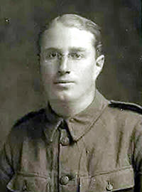 Bernard in uniform