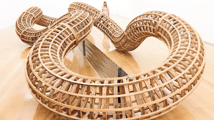 'After' (1998) by Richard Deacon