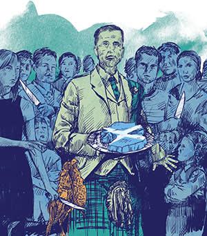 An illustration of Scottish landowners