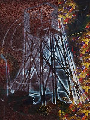 'Watchtower' by Sigmar Polke