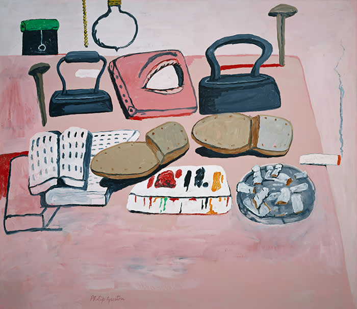 Philip Guston's 'Painter's Table' (1973)