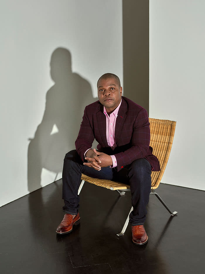 Kehinde Wiley photographed in London for the FT