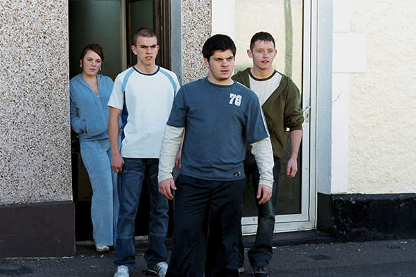 Stephanie James, Gary Sheppeard, Nathan Jones and Dean Wong in 'A Way of Life' (2004)