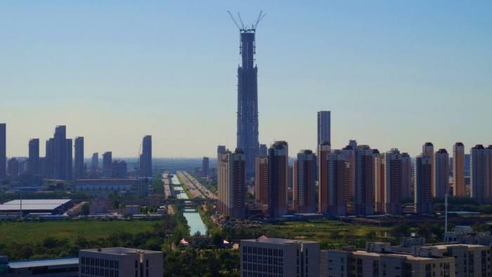 Goldin Finance 117 in Tianjin, China