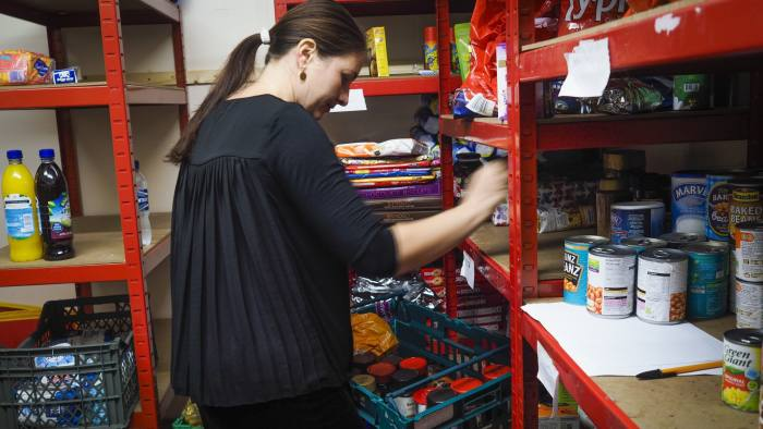Britains Food Banks Prepare For Difficult Winter